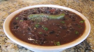 Vegetarian Black Bean Soup With Chipotle Spice One Pot Recipes