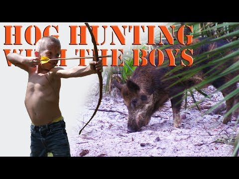 Traditional Bow Hunting Hogs And Fishing With Hayes Boys