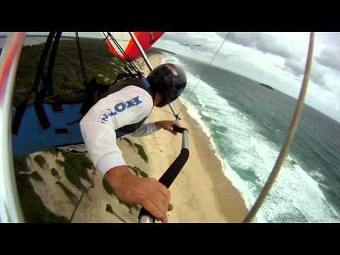 Hang Gliding - Dune Gooning 2011, Budgewoi Beach -  NSW Australia