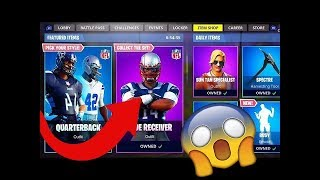HOW TO GET FORTNITE NFL SKINS FOR FREE GLITCH (early update glitch) PS4/XB1