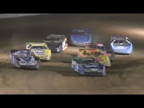 ULMS Super Late Model Heat Two | McKean County Raceway | Fall Classic | 10.11.14
