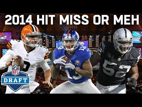 2014 Draft Hit, Miss, or Meh: Every 1st Round Pick!