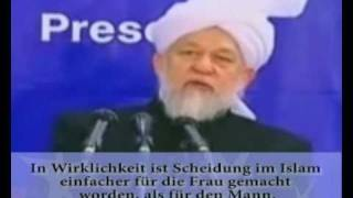 ist die Scheidung im Islam für die Frau schwieriger als für den Mann? - Islam Ahmadiyya