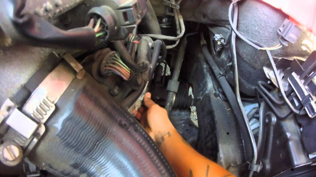 2007 Audi Crankshaft Position Sensor Replacement Youtube