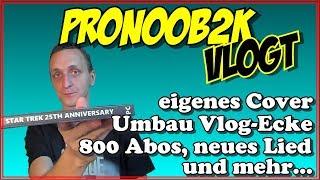 Umbau Vlog-Ecke, neues Lied, eigenes Spiele-Cover, Abos usw - [VLOG | August 2018]