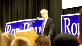 U.S. should not engage in Pre-emptive war- Ron Paul