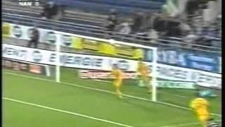 2003 (September 28) Strasbourg 1- Nantes 0 (French Ligue 1)