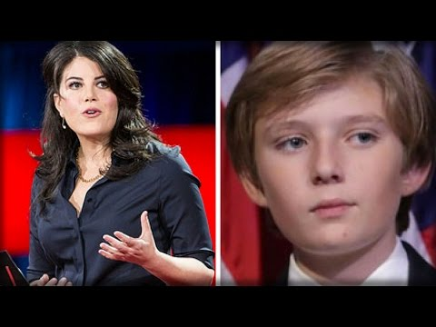 MONICA LEWINSKY STUNS WITH BARRON TRUMP ANNOUNCEMENT THAT DONALD CANNOT IGNORE