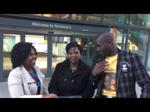 Rev TT Chivaviro arrives in the UK for The Ebenezer Gospel Concerts