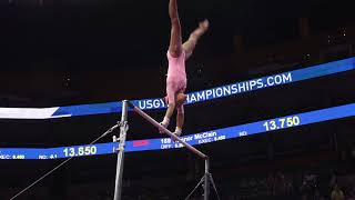 Zoe Gravier - Uneven Bars - 2018 U.S. Gymnastics Championships - Junior Women Day 2