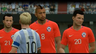 FIFA 17 Argentina vs Chile EL MONUMENTAL HD GAMEPLAY
