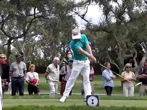 Soren Kjeldsen Golf Swing, Slow Motion, Valderrama, Spanish Open 2016