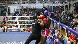 Petchtawan (Kru Big) PhuketTopTeam vs Jo Keawphitak Muay Thai fight 2 Mar 2018