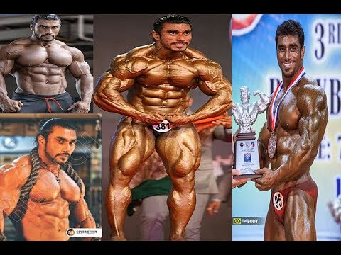 Mr World Winner in 2014 Indian bodybuilder Sangram Chougule