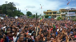 Massive Protest Held in Gondar