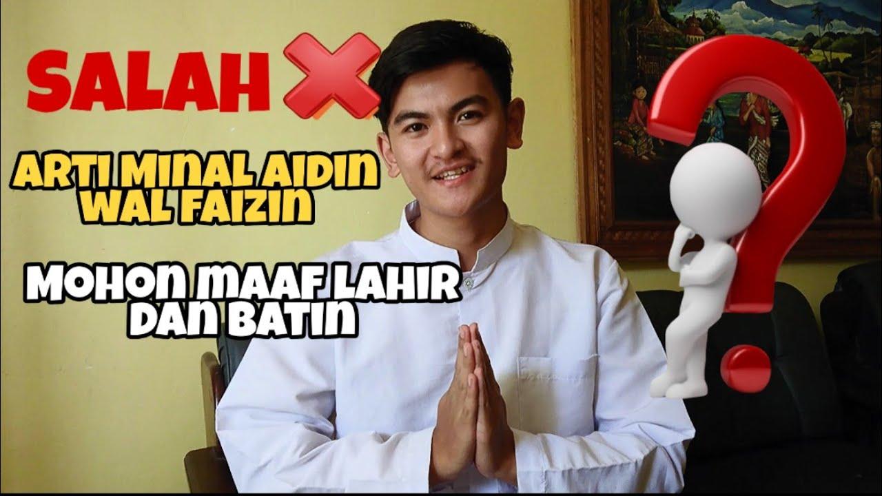 Image Result For Arti Minal Aidin Wal Faizin