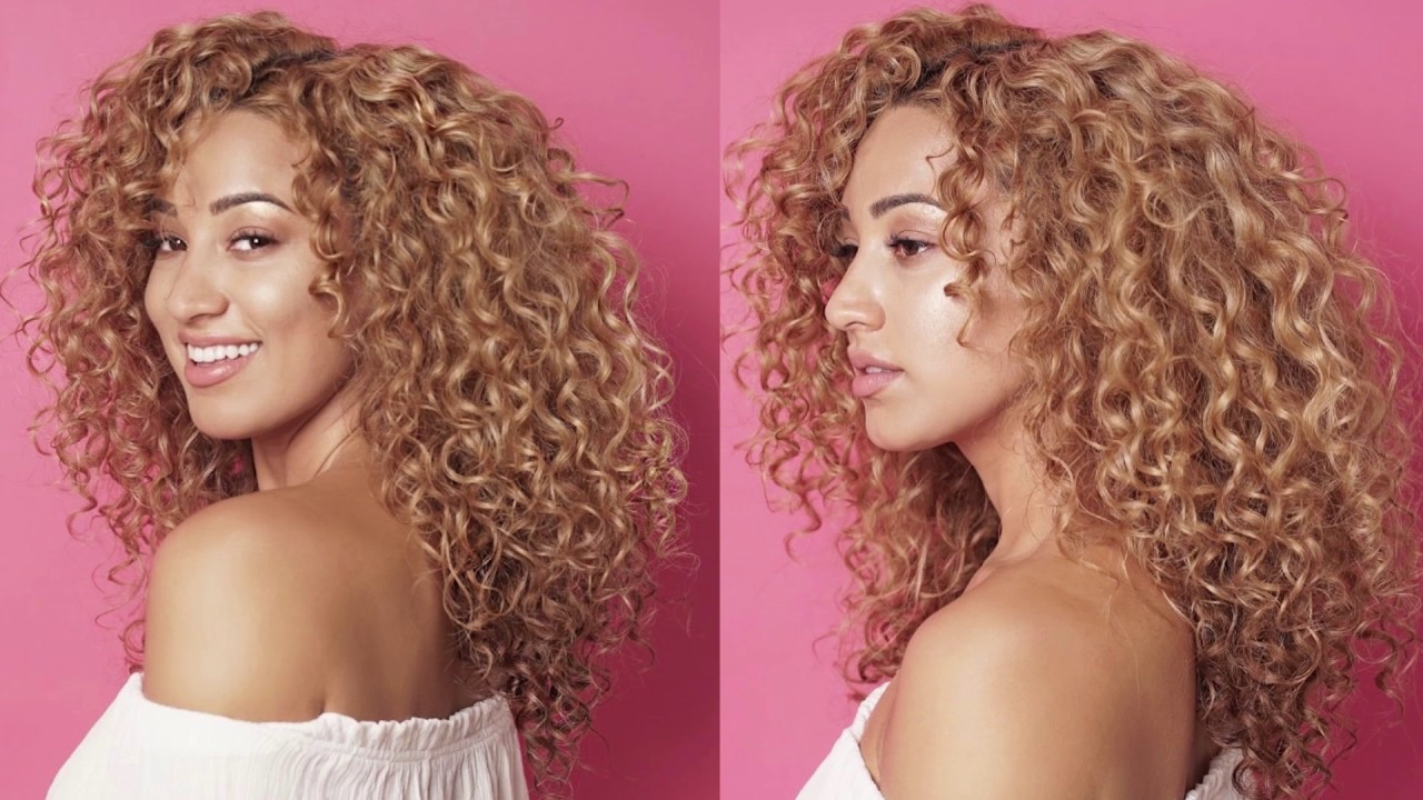 Curly Hair tutorial using RIZOS CURLS