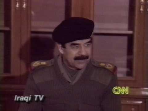 News - Part 1 - Ground War 22 hrs After Start - Day 40 - CNN - 24 Feb 1991