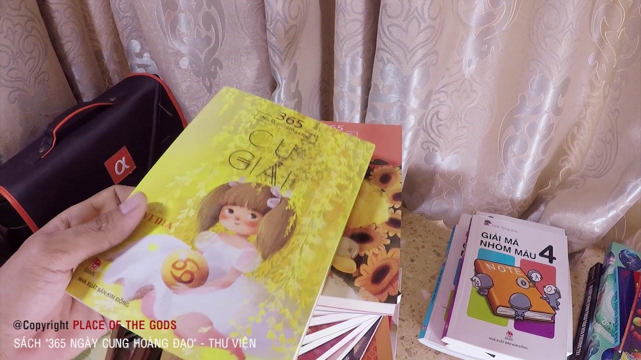 Sách chiêm tinh 365 NGÀY CUNG HOÀNG ĐẠO