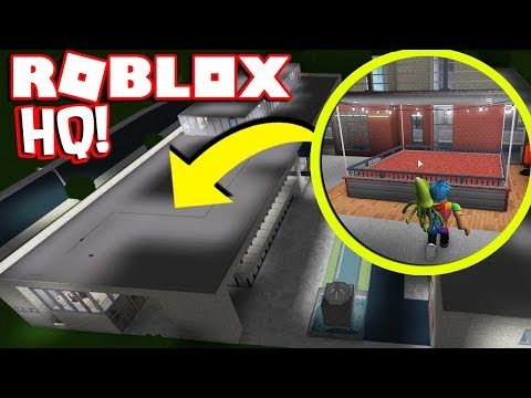 Ethan Gamer Escapes Roblox Hq Touring New Roblox Headquarters In Bloxburg 3 Million