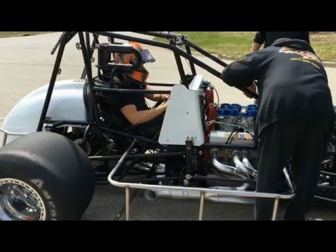 Sprint Cars 900 HP Warm Up