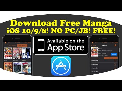 [New]How To Download Manga On IOS 10/9/8! NO PC/JB! FREE!