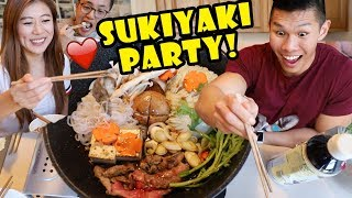 Japanese One Pot Tabletop Cooking w/ Friends || Life After College: Ep. 590