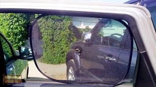 видео Солнцезащитные шторки для автомобиля | AvtoPremial.ru – информационный портал для автолюбителей