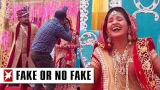 Bräutigam schlägt auf Fotografen ein – und die Braut lacht sich schlapp