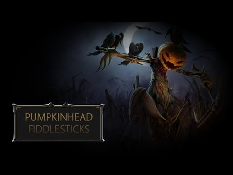 Pumpkinhead Fiddlesticks Skin Spotlight
