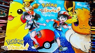 Drawing Pokémon Let