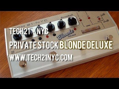 Tech 21: Blonde Deluxe - Demo