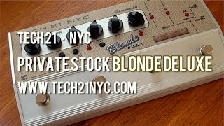 Tech 21: Blonde Deluxe - Demo
