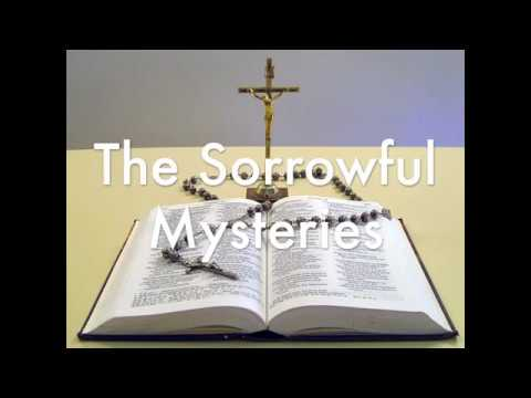 The Sorrowful Mysteries of the Rosary - Tuesday and Friday - Lent