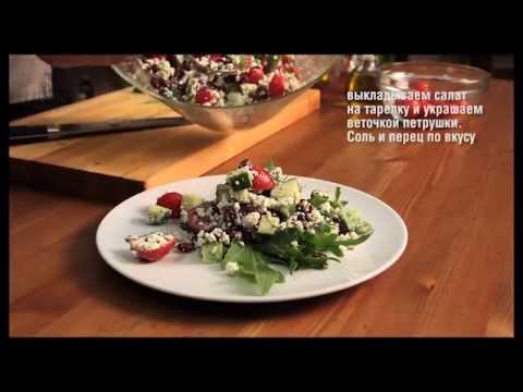 Рецепт: Торт кабачковый с сырно-овощной начинкой на
