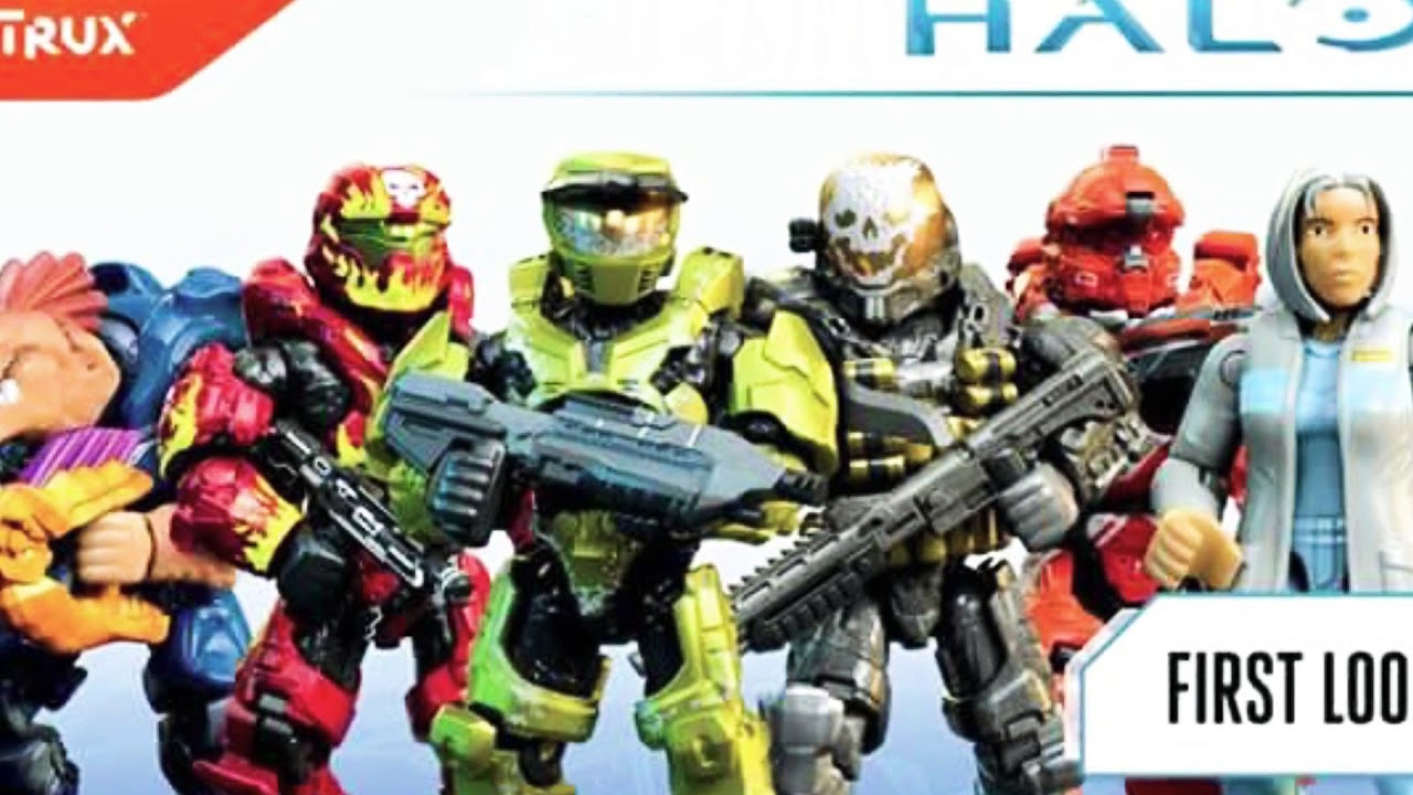 Halo Mega Construx Héroes Series 8 First Look