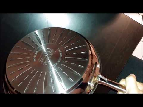 Tefal E43506 Jamie Oliver Pfanne Edelstahl im Detail-Check