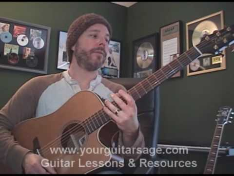 Guitar Lessons Hound Dog By Elvis Presley Cover Chords Lesson