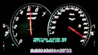 Время набора скорости машин...
