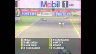 tj13TV presents - 2003 British Grand Prix Lunatic Runs Onto Track (French)