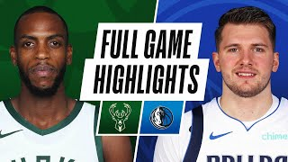 GAME RECAP: Mavericks 116, Bucks 101