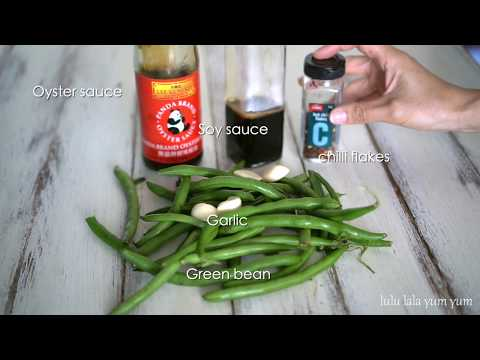 Greenbeans Recipe : Easy Chinese Style Garlic Spicy  Green Bean
