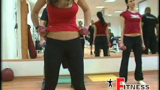 fitness mania virtual trainaer body pump sliven legs