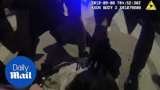 Body cam video shows man who died after being restrained
