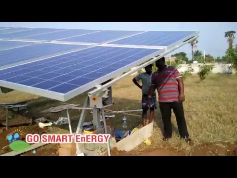 GSE 3HP Solar Powered Water Pumping System for Agricultural Irrigation Tamil Nadu