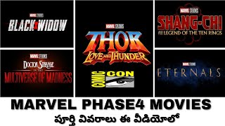 Marvel studio Officially Announces Phase 4 movies   In Telugu   Thor love And Thunder movie Details