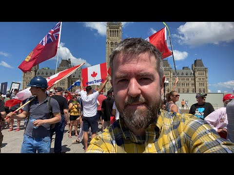 Canada Day in Ottawa Live with Press For Truth!