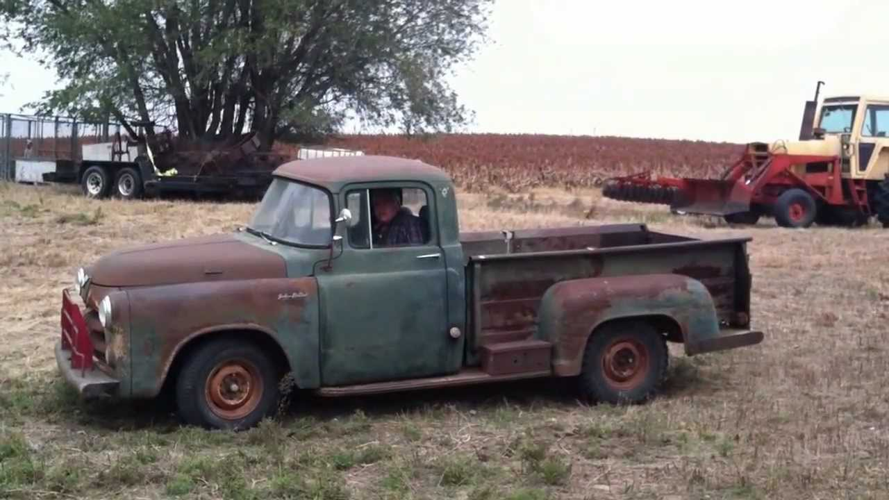 1956 Dodge Pickup - YouTube