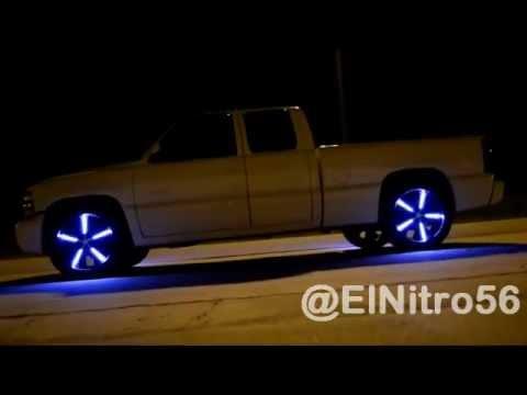 La Camioneta Con Luces De Led En Los Aros Rim Lights El