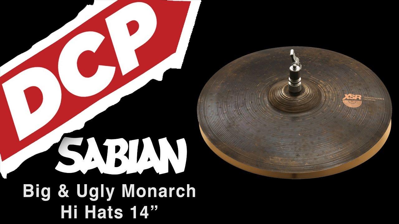 sabian big ugly xsr monarch hi hat cymbals 14 759 1147 grams youtube. Black Bedroom Furniture Sets. Home Design Ideas